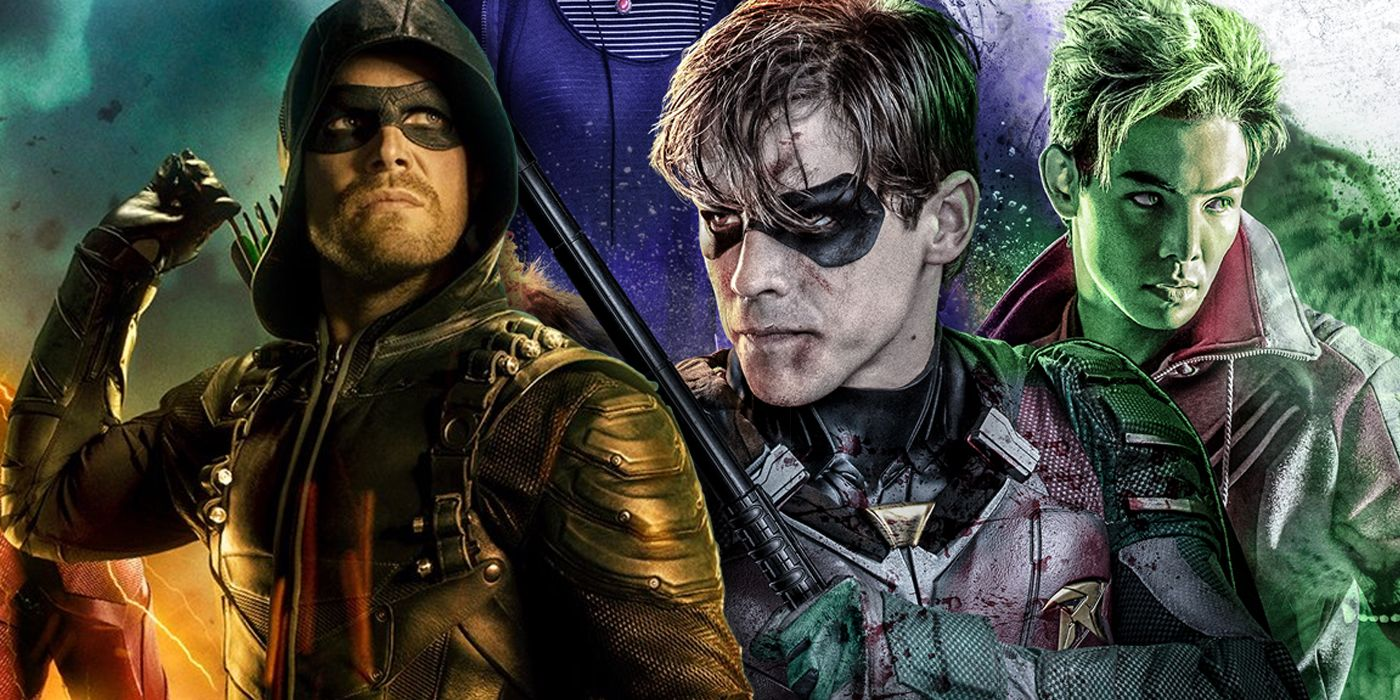Titans Won't Cross Over With the Arrowverse Anytime Soon