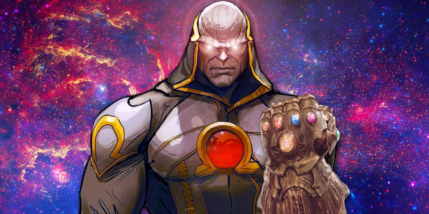 Darkseid's New Weapon Could Be DC's Infinity Gauntlet | CBR |Darkseid Infinity Gauntlet