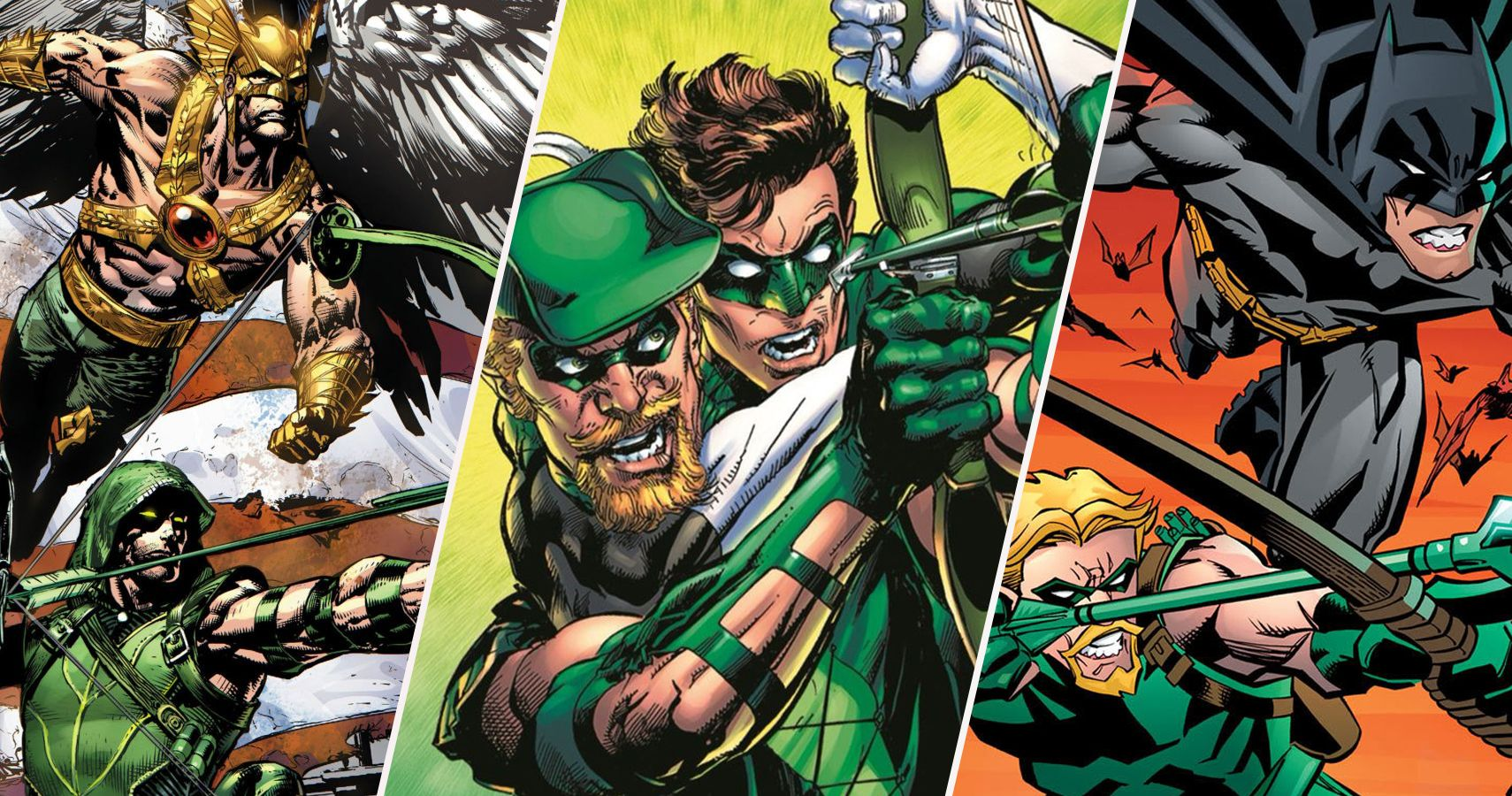 QnA VBage Hard Targets: 10 Heroes Green Arrow Gets Along With (And 10 He Just Finds Annoying)