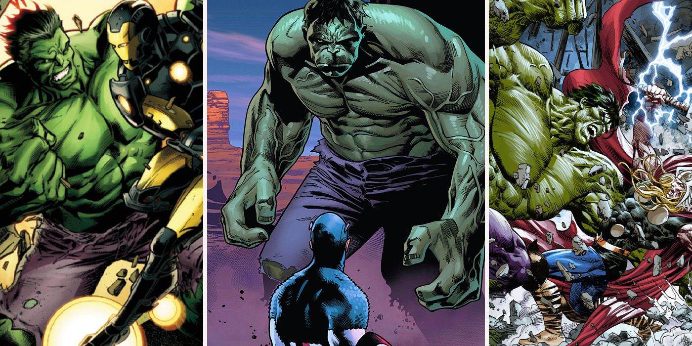 Smash Or Pass: 10 Avengers The Hulk Gets Along With (And 10