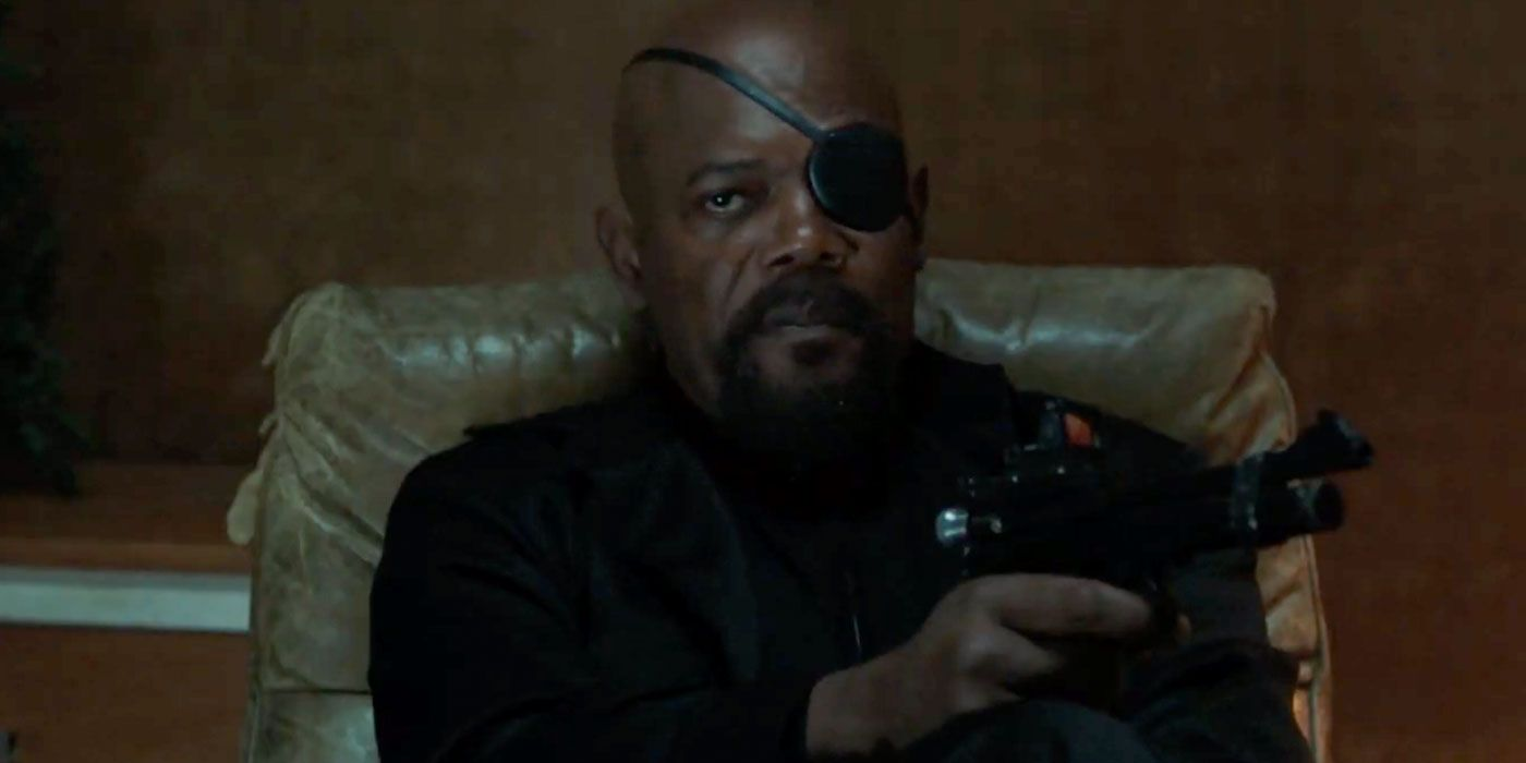 Nick Fury Is Spider-Man: Far From Home's 'Mean New Stepdad'
