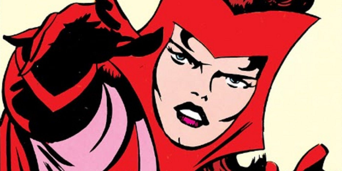 Why Did Jack Kirby Have Scarlet Witch Wear a Wimple?