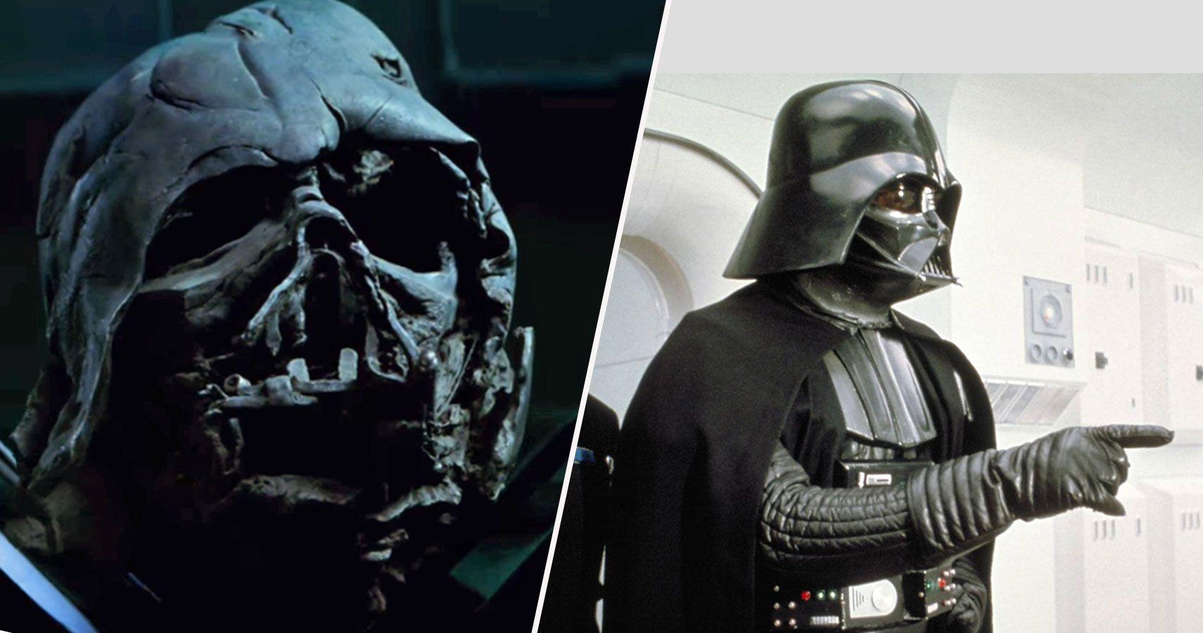 Helmet Helmet Darth Vader Mask Off