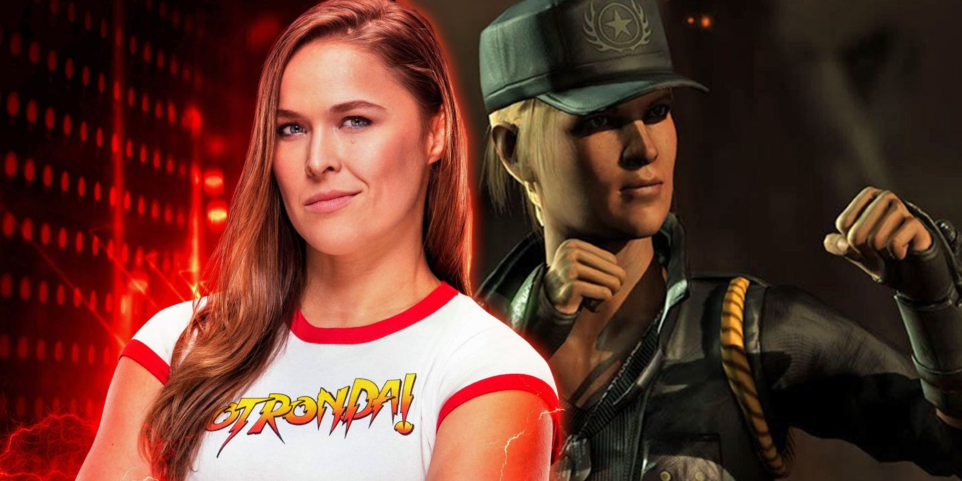 Wwe S Ronda Rousey Dons Ring Gear Inspired By Mortal