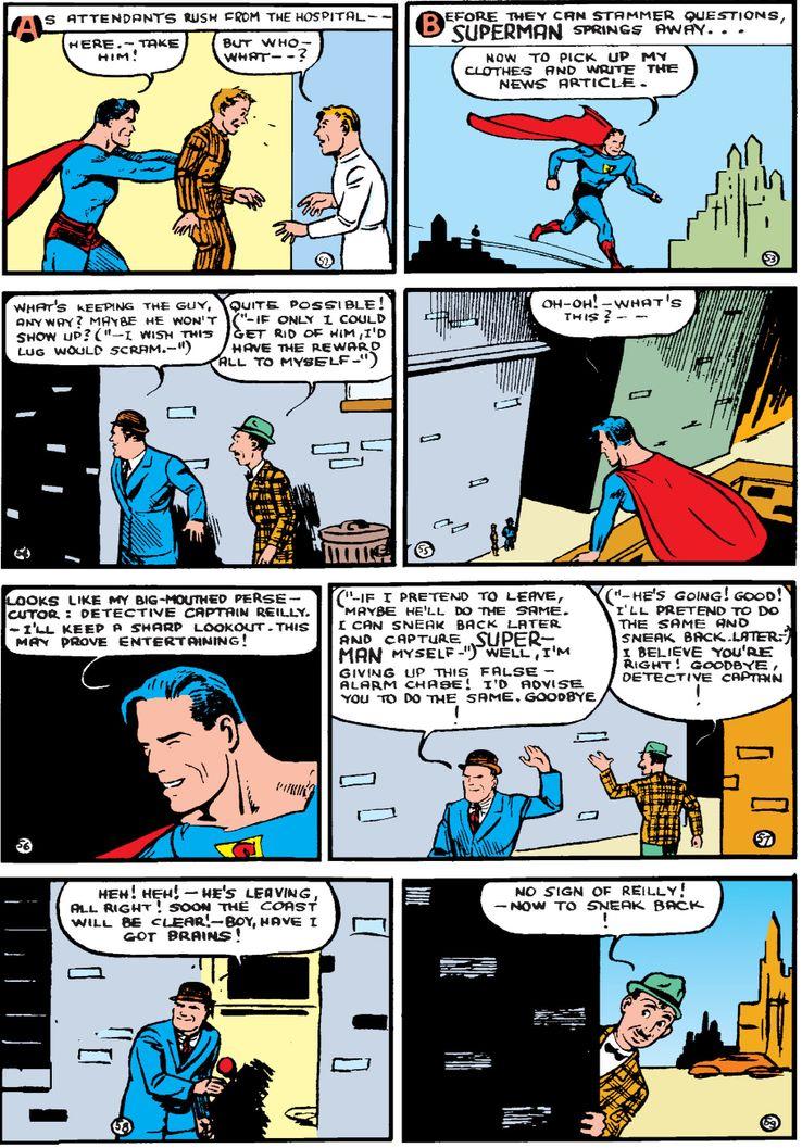 action comics 9a 2 - ¿Qué le pasa a la ropa de Clark Kent cuando se convierte en Superman?
