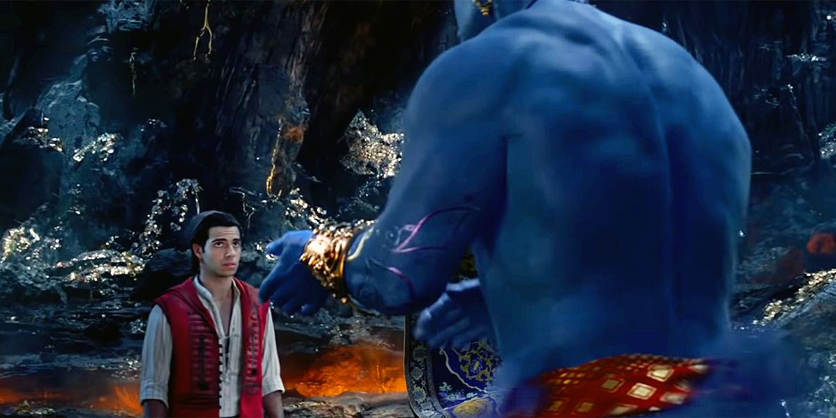 How The Aladdin Live Action Movie Compared To Disney S