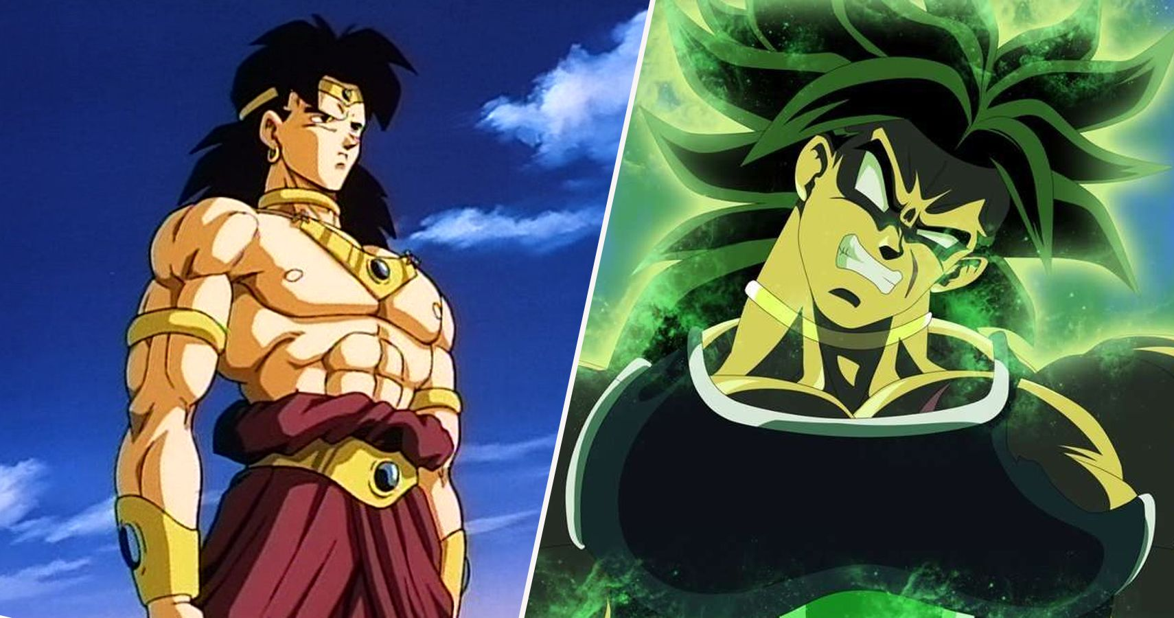 The 10 Biggest Changes To Broly In The New Dragon Ball Super Movie