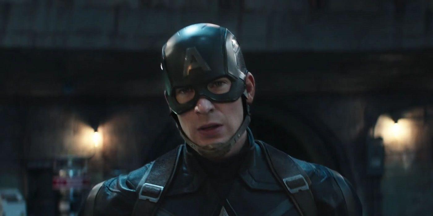 Chris Evans Reveals Bald Steve Rogers In Avengers: Endgame Photo