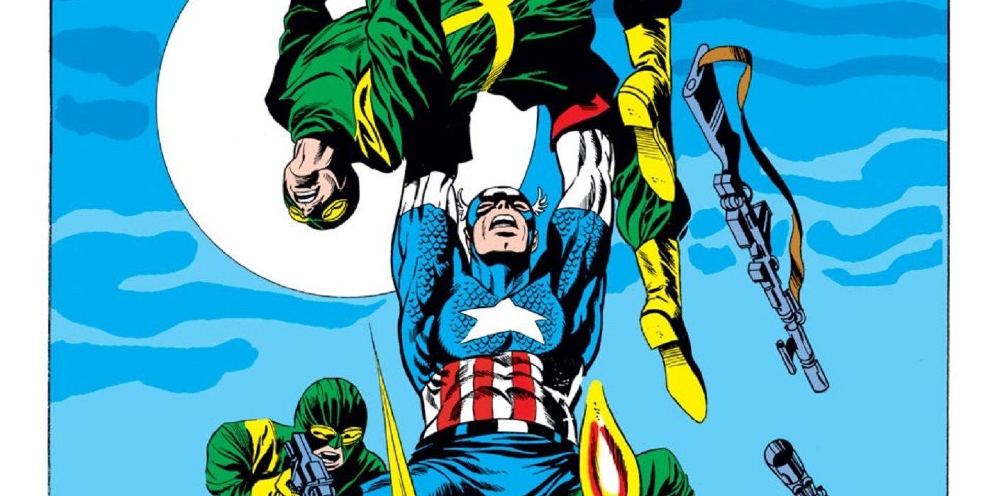Look Back: Jim Steranko's Captain America Has An Explosive Finale!