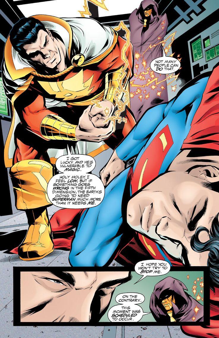 jla 29 3 - Shazam! vs Superman: ¿Quién es más poderoso?