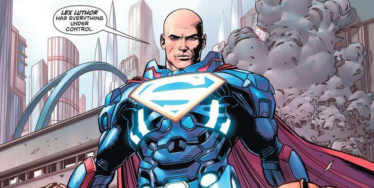 Action Comics Rebirth Lex Luthor Superman - Llámame Superman pero no Clark Kent