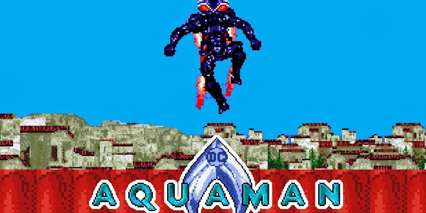 Aquaman's Best Fight Becomes the Perfect Retro Game in New Video