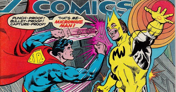 Microwave Man - Los 10 peores villanos de Superman