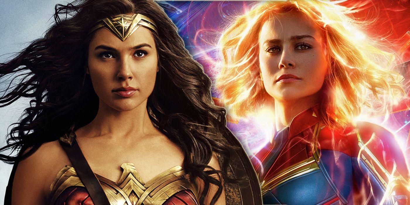 Captain Marvel Surpasses Wonder Woman's Box Office Haul