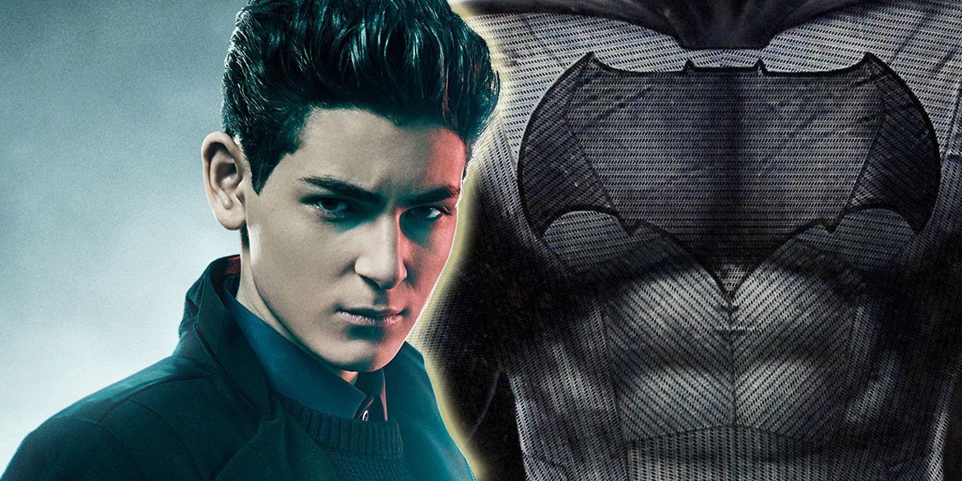 gotham u0026 39 s batman suit may have leaked online