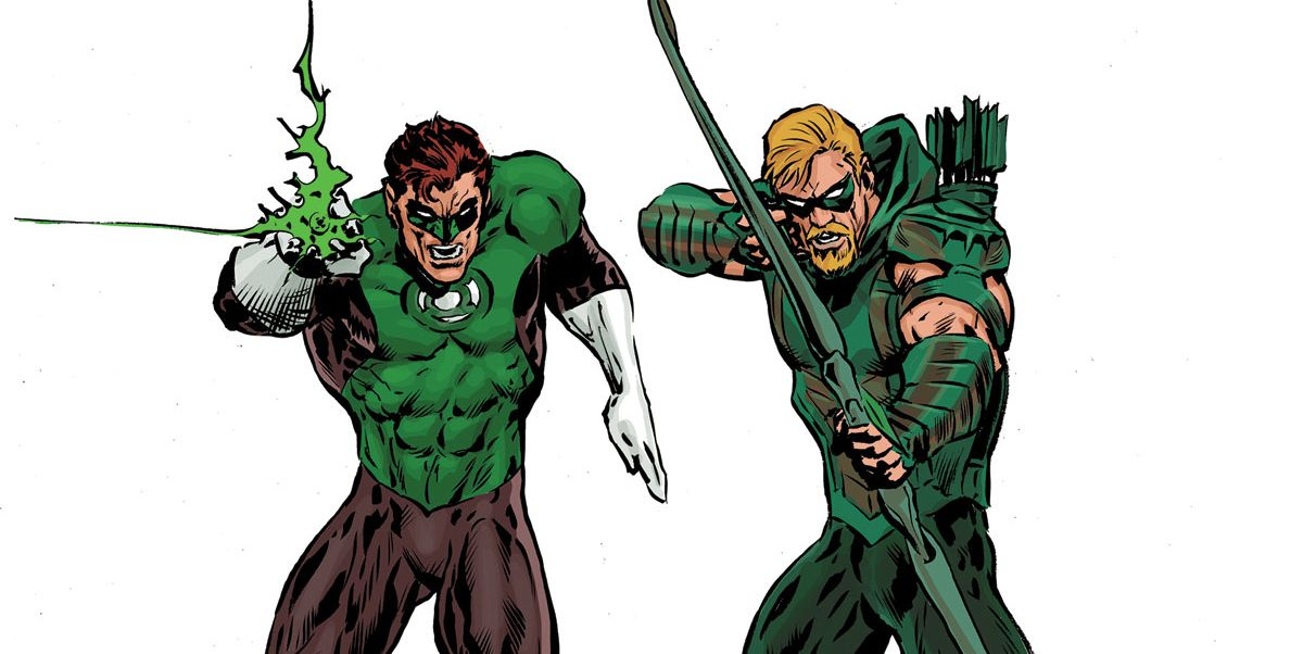 The Green Lantern Homages a Classic Green Arrow Team-Up Issue