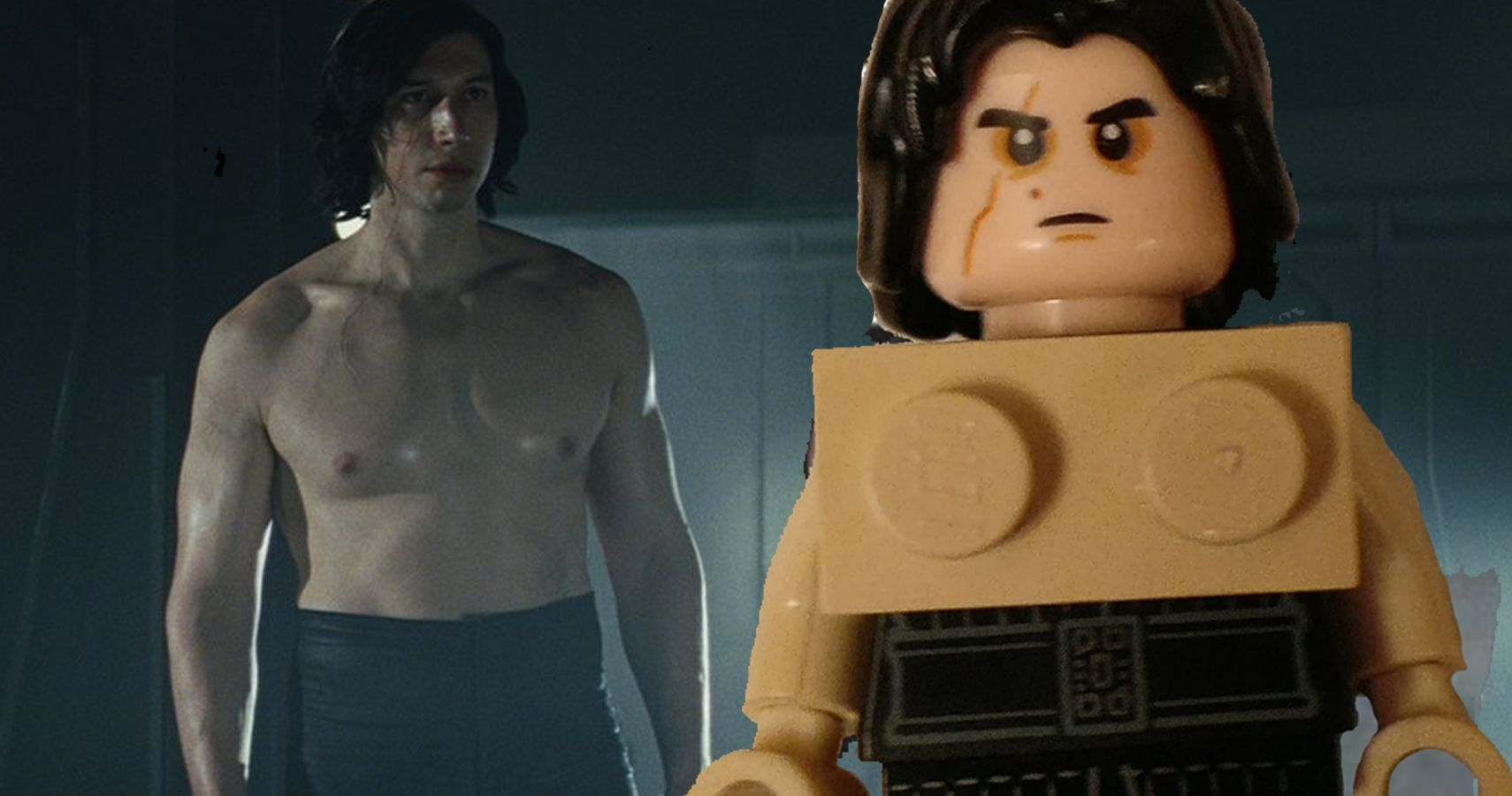 10 Best Takes On The Shirtless Kylo Ren Star Wars Meme Cbr