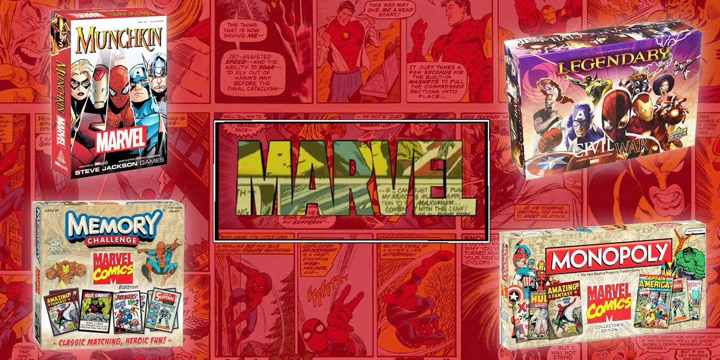 The 10 Best Board Games For Marvel Fans Ranked CBR