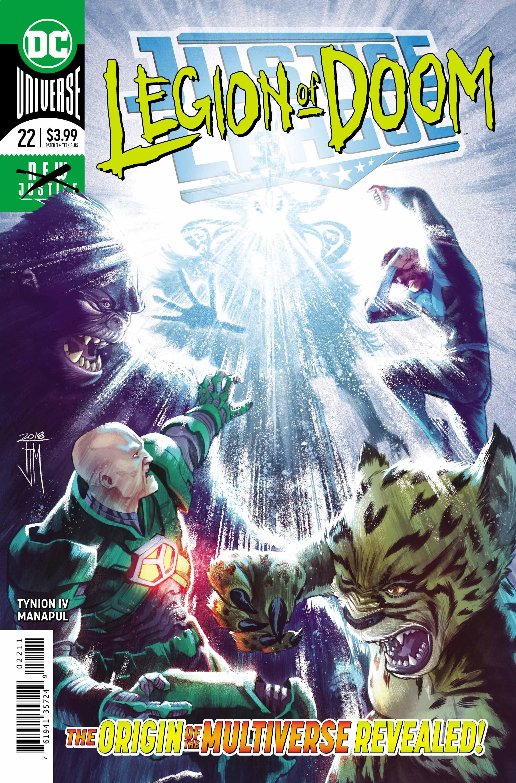 PREVIEW: Justice League #22