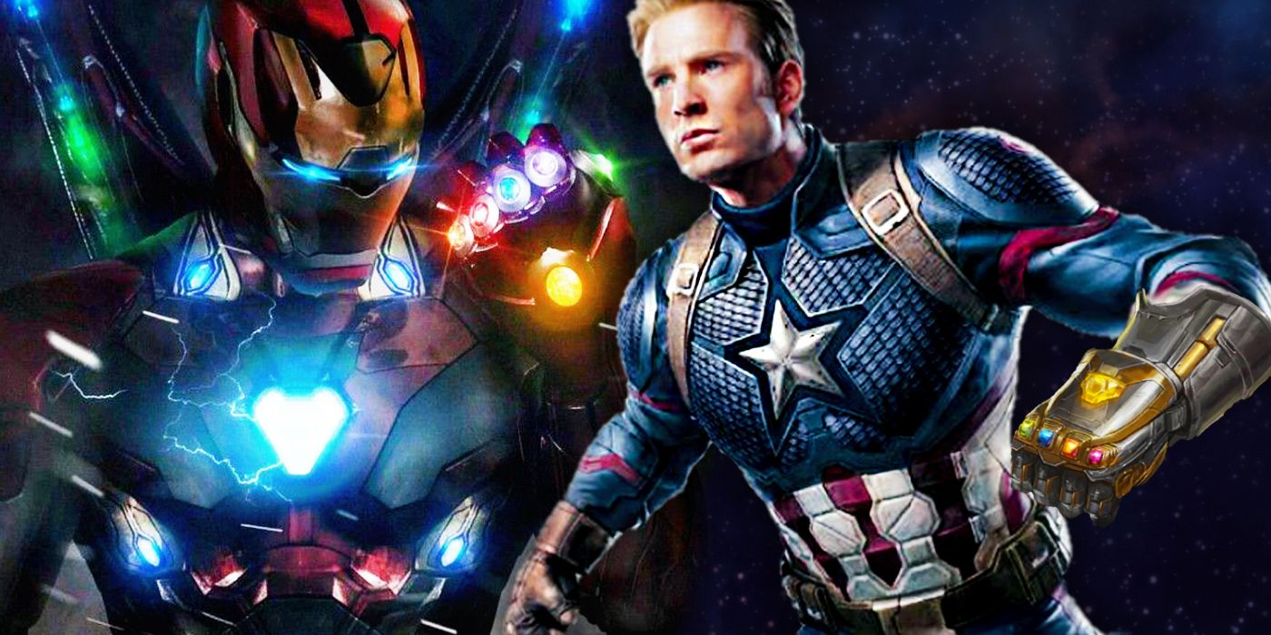 Endgame Poster Iron Man Gauntlet