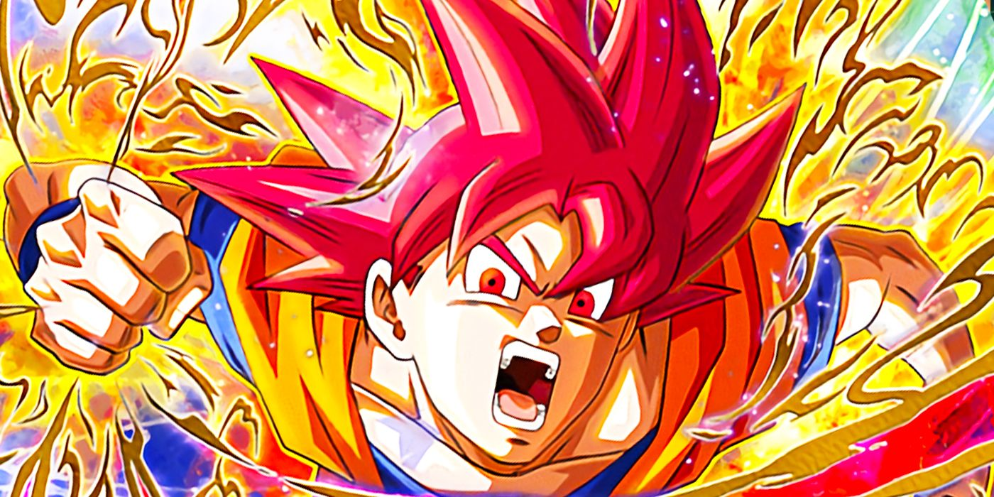 Dragon Ball Super Poster Goku Super Saiyan God Red SSJG ... |Goku Super Sayian God