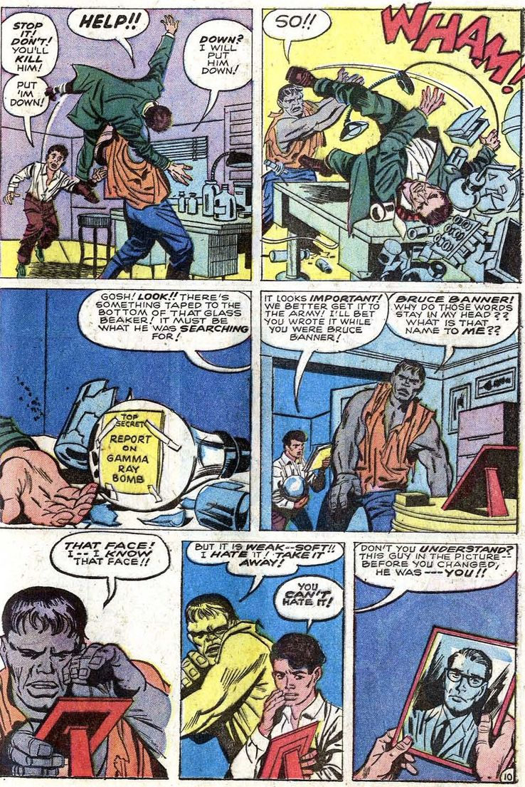 Is Professor Hulk Actually Bruce Banner's Personality     or