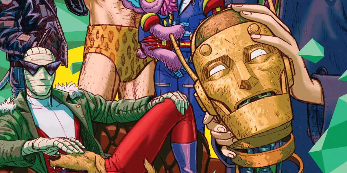 Gerard Way's Young Animal Returns to DC With Doom Patrol & New Titles
