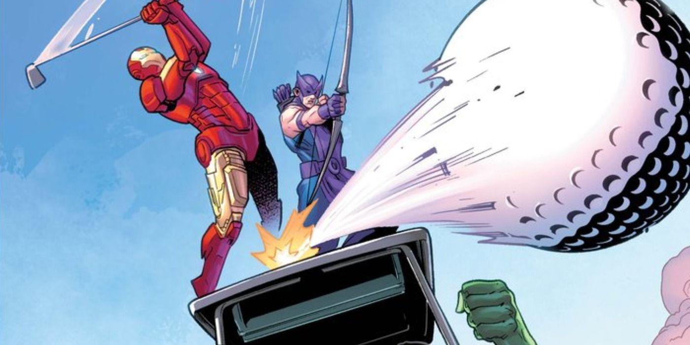 Marvel Teams With USGA for Junior Golfers US Open Comic Books