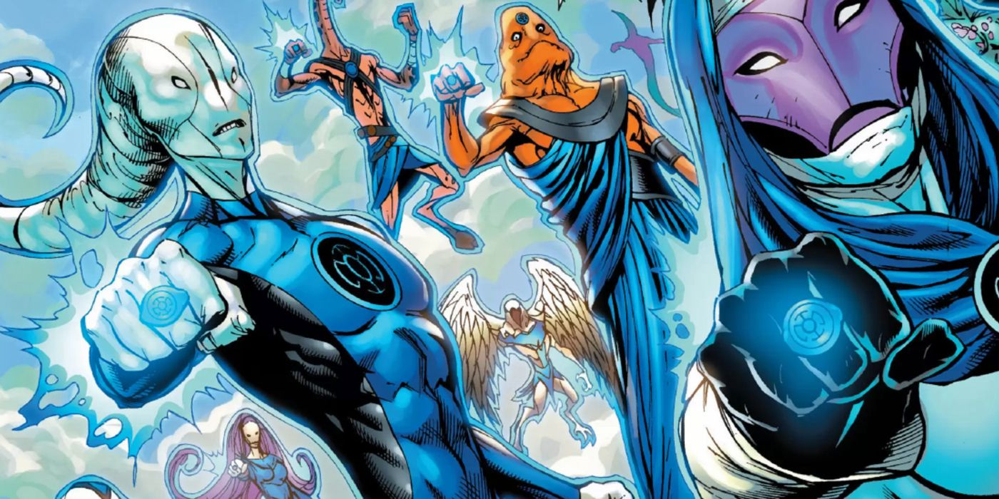 Blue Lantern Corps: Who are DC's Most Hopeful Cosmic Heroes?