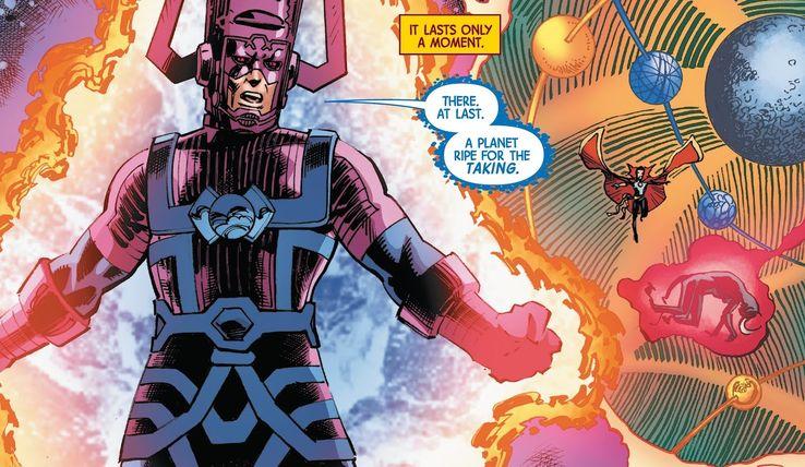 Galactus in Doctor Strange #14