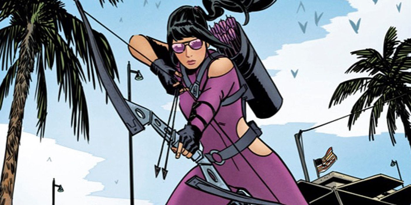 Hawkeye: Stargirl Star Shoots for Kate Bishop Role | CBR