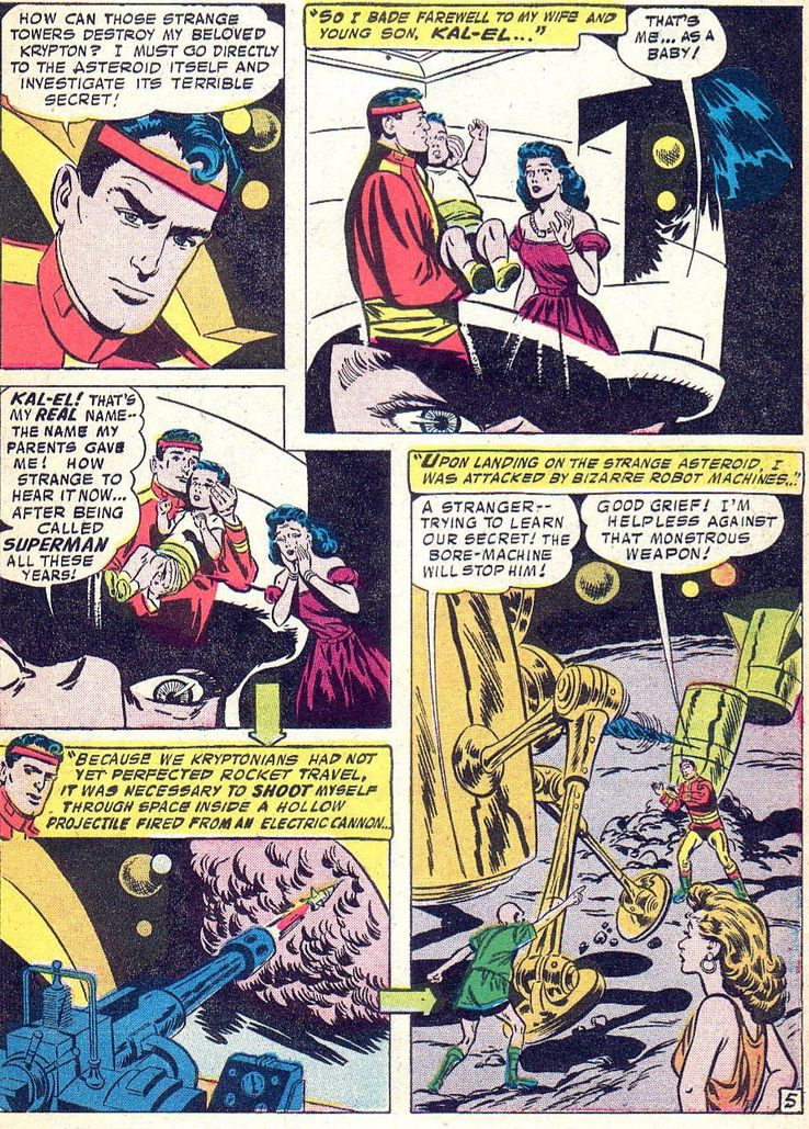 Superman 113 - ¿Cuándo Superman fue llamado Kal-El?
