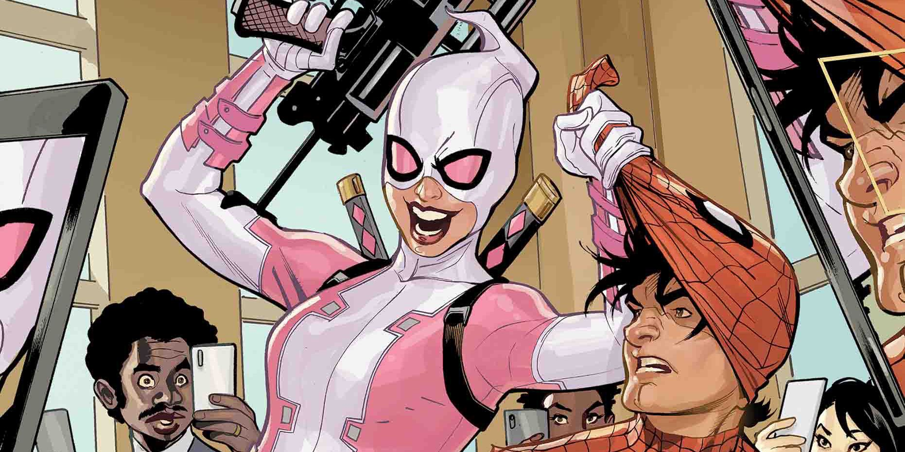 EXCLUSIVE: Gwenpool Aims to Unmask Spider-Man In New Miniseries