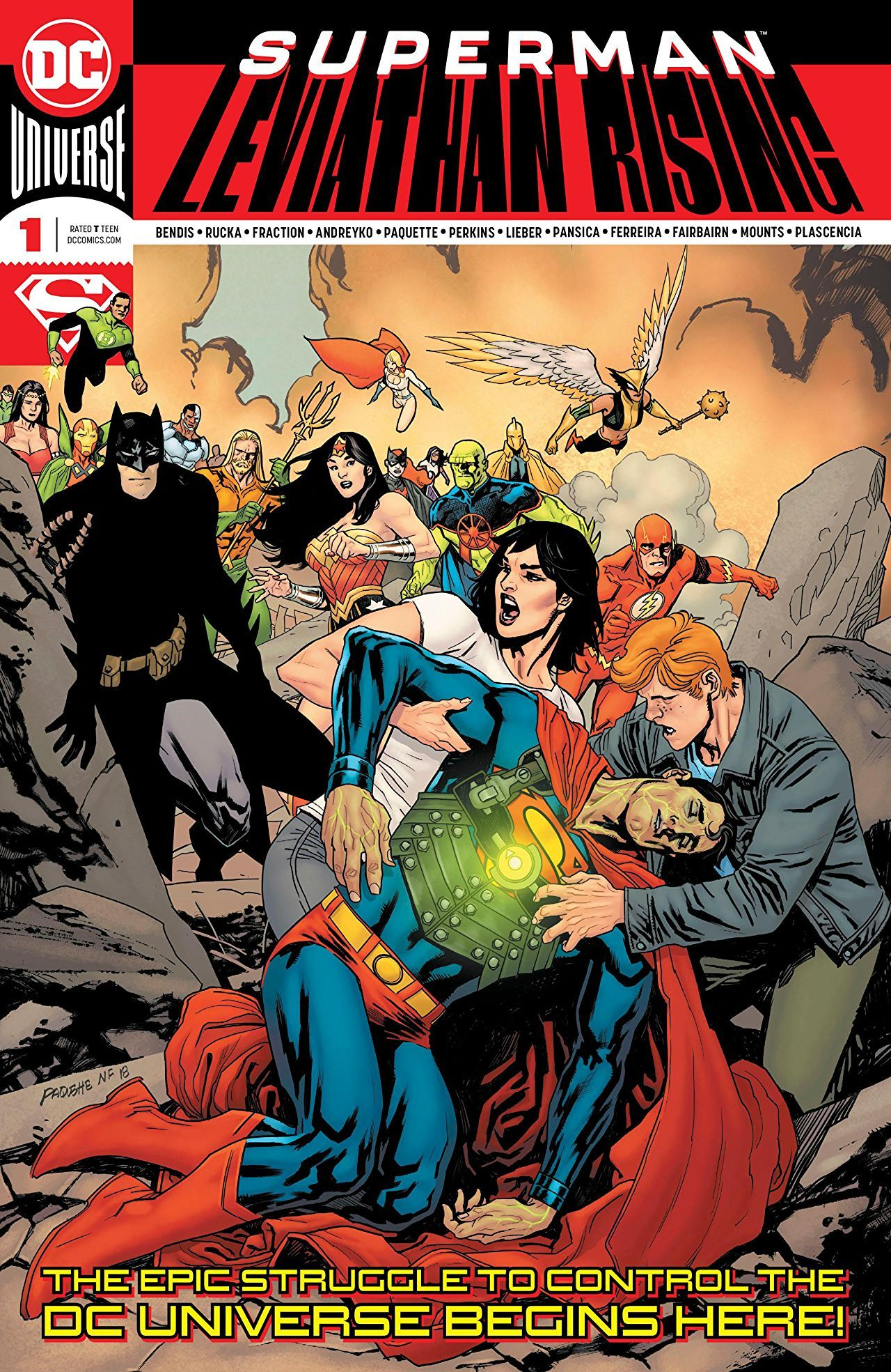 Superman: Leviathan Rising #1 Succeeds As Its Own Story