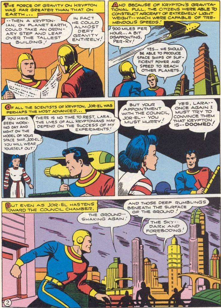 more fun comics 101 1 - ¿Cuándo Superman fue llamado Kal-El?