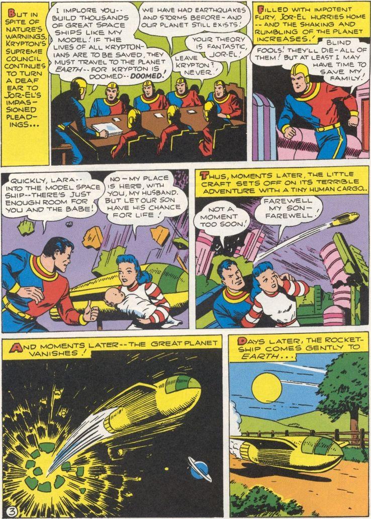more fun comics 101 2 - ¿Cuándo Superman fue llamado Kal-El?