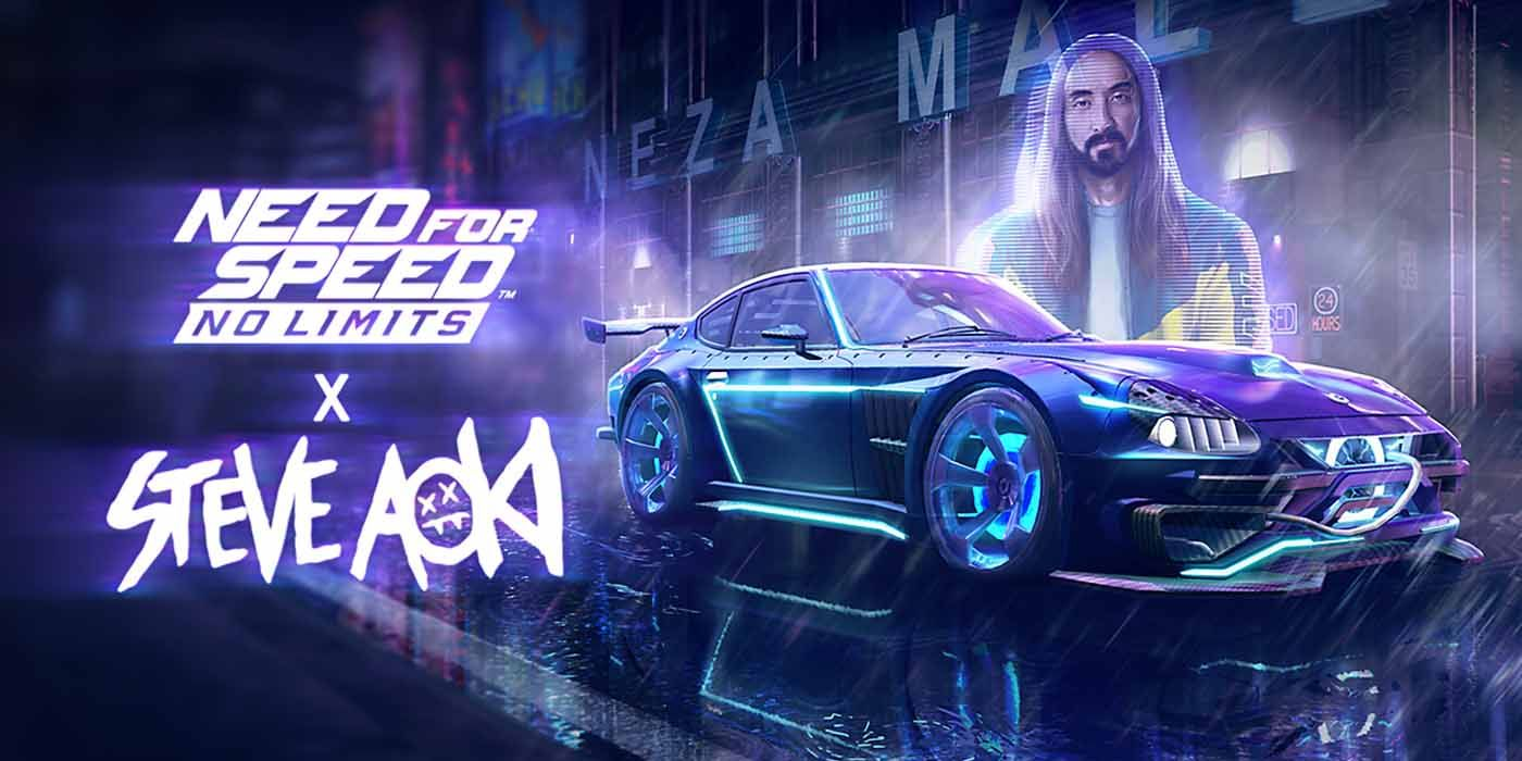 Need For Speed No Limits Partners Up With Steve Aoki's Neon Future