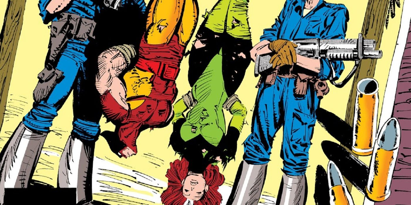 Wait, When Was Wolverine a Slave?