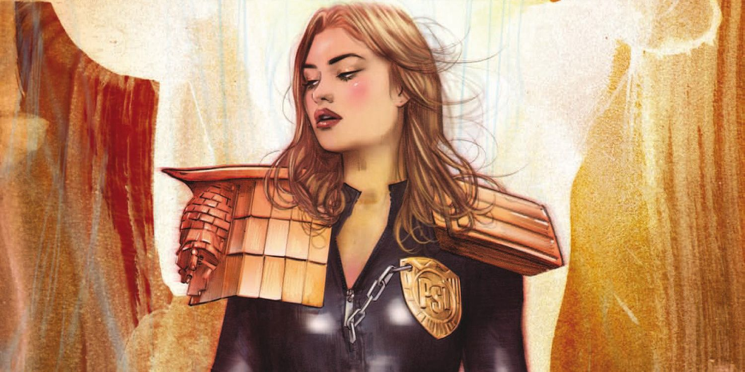 EXCLUSIVE: 2000 AD Prog 2137 Cover Commemorates New Judge Anderson Story