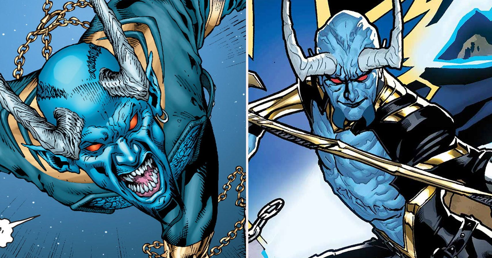 Swamp Thing: 10 Things You Need To Know About Blue Devil | CBR