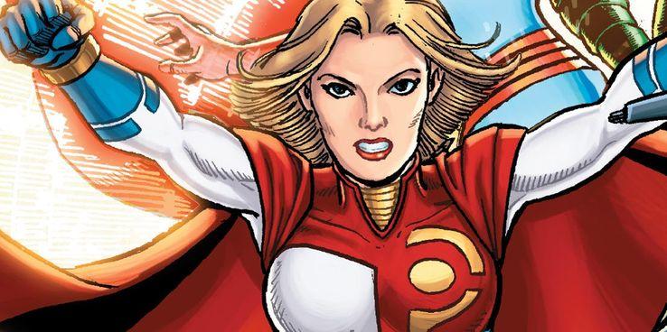 PowerGirl - Los diez miembros más poderosos de la familia Superman