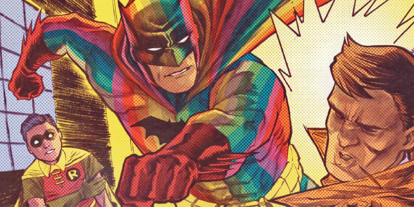Rainbow Batman: Why the Dark Knight Became Gotham's Brightest Hero