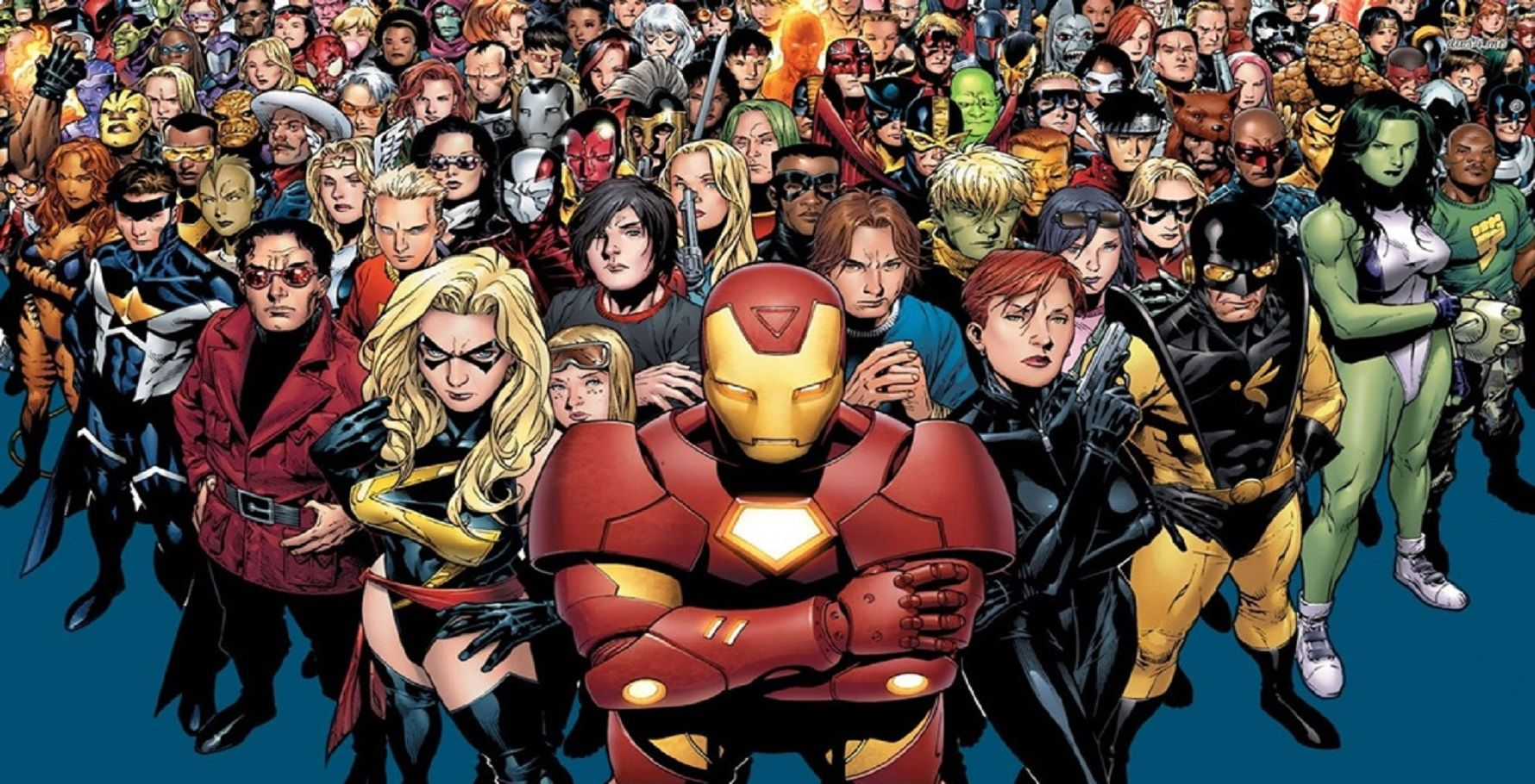what superheroes are in marvel