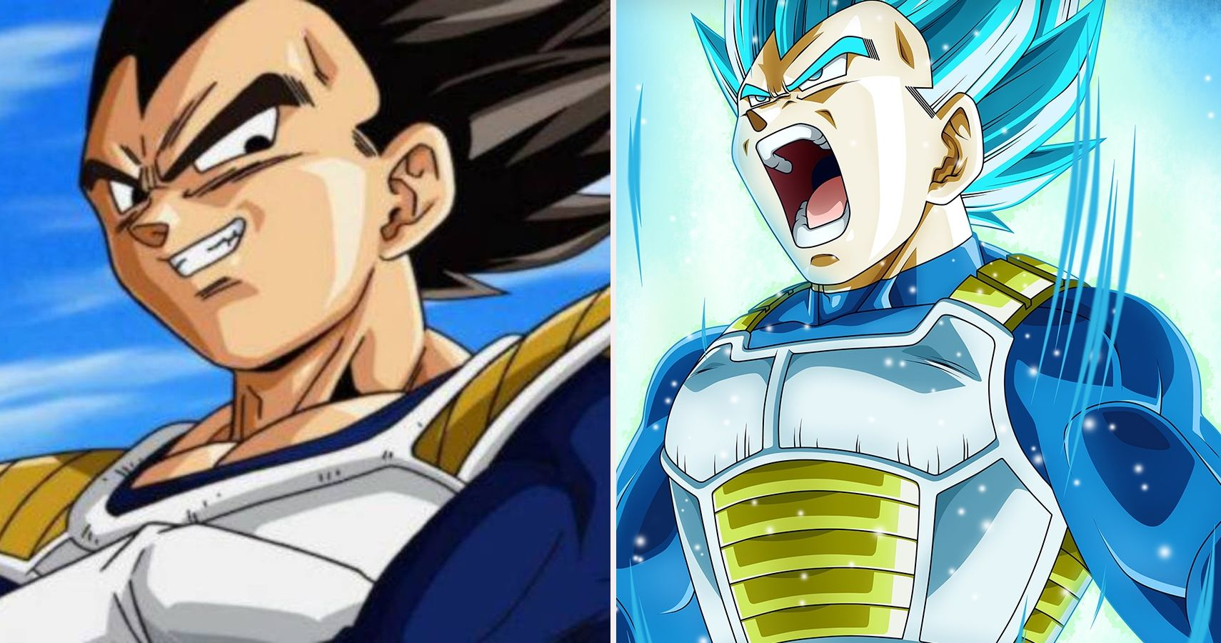 Dragon ball all of vegeta 39 s forms in order of impact cbr - Vegeta all forms ...