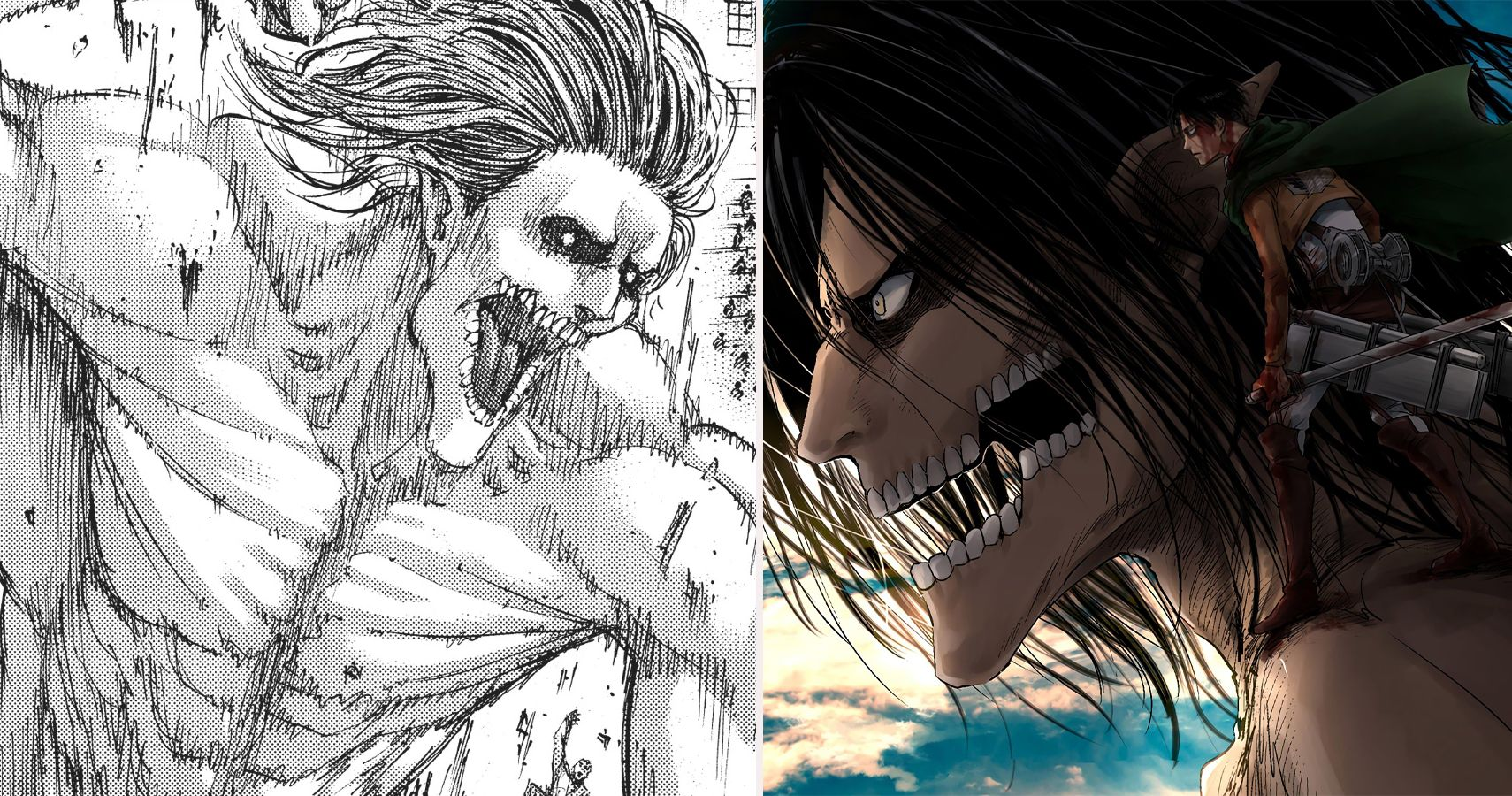 Attack On Titan 5 Things In The Manga That Are Better Than The Anime 5 Things The Anime Does Better