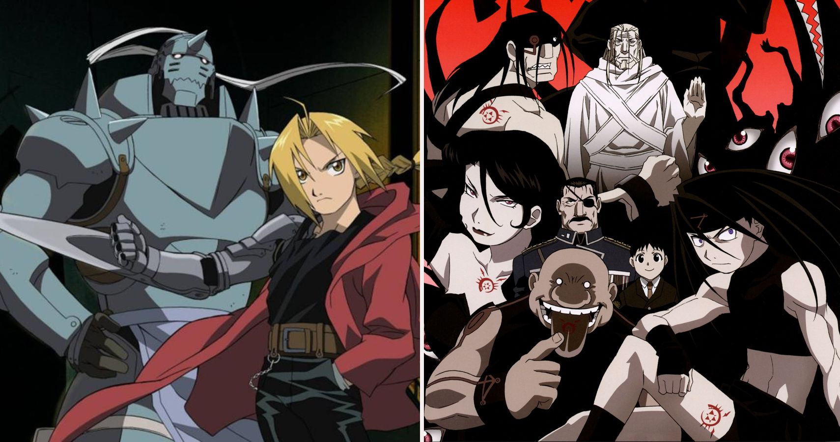 Fullmetal Alchemist: Brotherhood: All Of The Homunculi, Ranked
