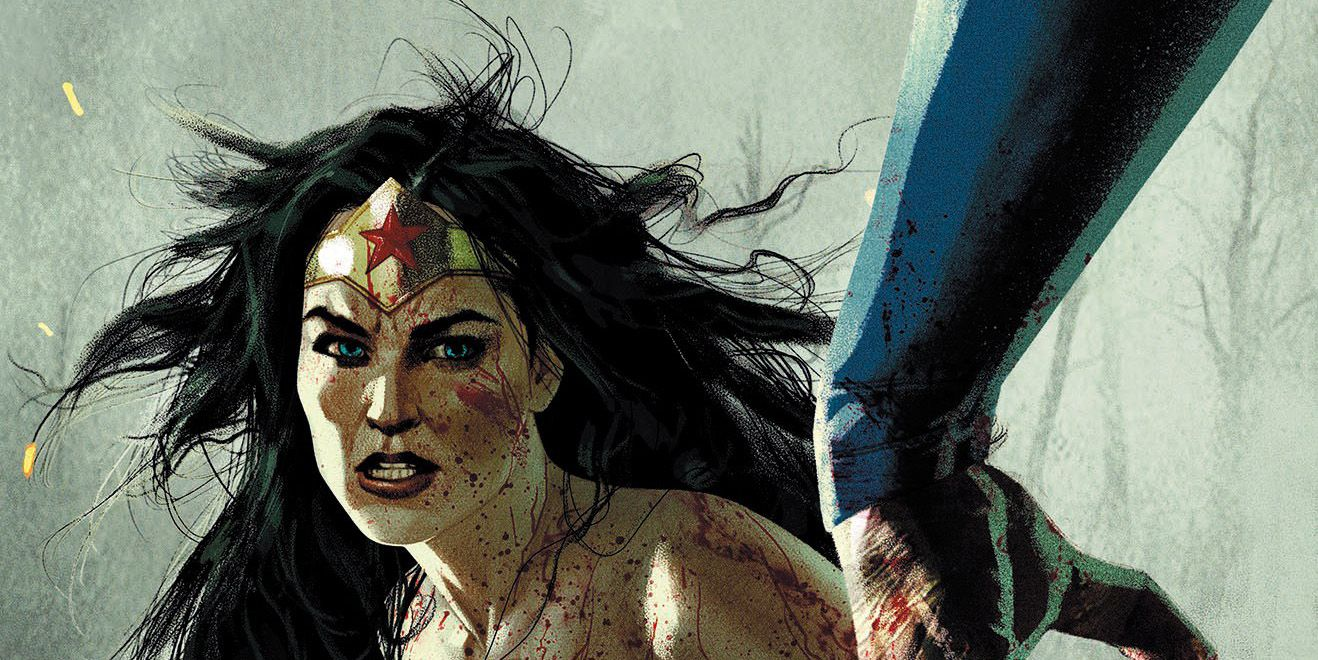 DCeased #5 Cover Pits a Bloodied Wonder Woman Against Superman