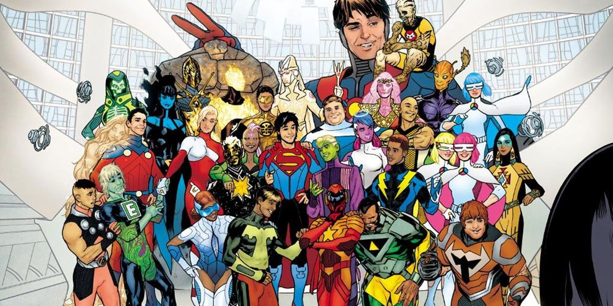 Bendis' Ultimate Spider-Man Approach to Legion of Super-Heroes