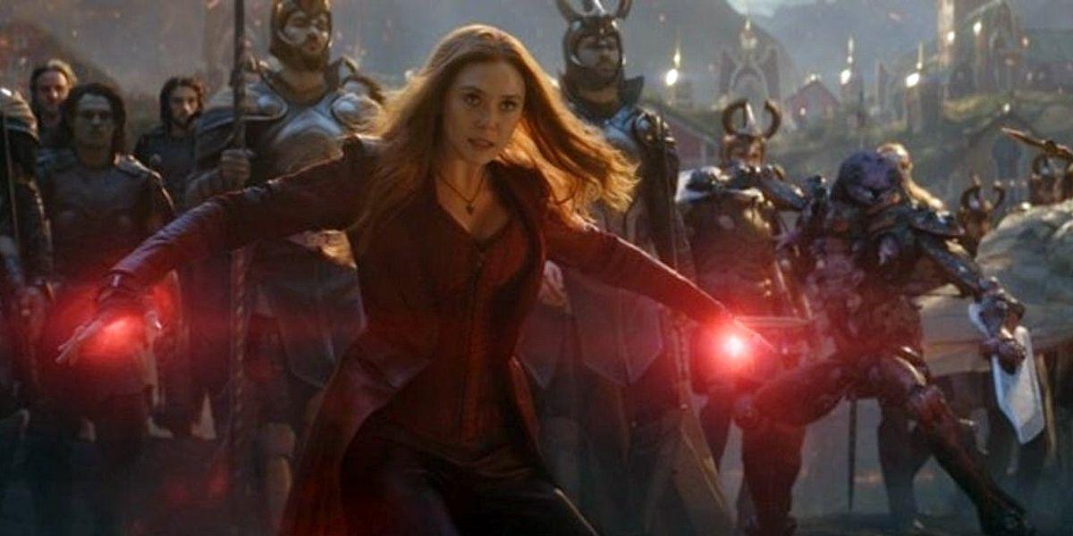 Avengers: Endgame: Olsen Weighs In On Scarlet Witch vs Thanos Debate