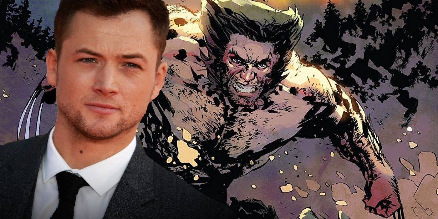 Kingsman Star Taron Egerton Responds to MCU's Wolverine Casting Rumors
